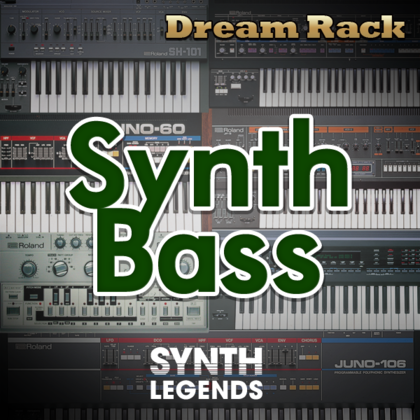 Dream rack synth bass powered by synth legends integra for Classic house synths