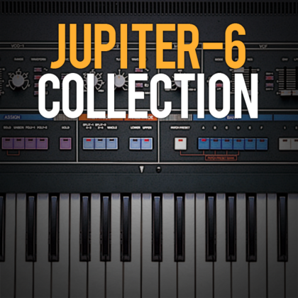 Jupiter 6 collection powered by synth legends integra 7 for Classic house synths