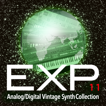 EXP-11 Analog/Digital Vintage Synth Collection | FA-06 / FA