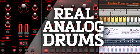 Real Analog Drums